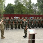 На границе с Польшей открыли обновленный пограничный подразделение в селе Грабово