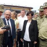 На Волыни открыли обновленный пограничный подразделение