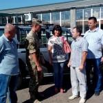 Волынские благотворители приобрели для военных внедорожник