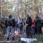 На Волыни задержали 80 незаконных бурштинокопачів