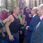 «Янтарная война» на Волыни продолжается
