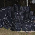 Волынские пограничники изъяли 130 ящиков контрабандных сигарет
