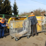 Луцкие дворы пополнятся новыми контейнерами для раздельного сбора мусора