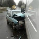 В Луцке в аварии пострадали трое людей