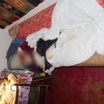 В городе Горохов на Волыни во время ссоры муж отрезал голову жене (видео)