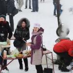 «Волонтерская гостиная» собрала на Крещение более 2000 гривен