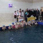 Школьники 20-й школы города Луцк отныне будут плавать в капитально отремонтированном бассейне
