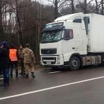 «Автомайдан» блокирует российский транспорт на Волыни
