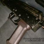 На Волыни в автомобиле, который совершил ДТП, нашли оружие