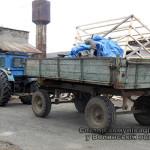 На Волыни полицейские изъяли трактор с оборудованием для незаконной добычи янтаря