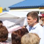 Кандидат от Радикальной партии Сергей Была раздавал в Камне-Каширском «антикоррупционные средства»