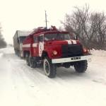 На Волыни в течение прошлых выходных спасатели эвакуировали из снежных заносов 46 транспортных средств