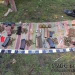 Волынянин хранил дома гранаты и другое оружие