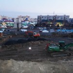 Через новое строительство старая многоэтажка «трещит по швам»