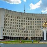 На Волыни здание областного совета охраняет Нацгвардия
