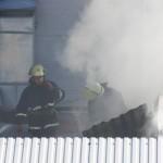 В Нововолынске горел завод