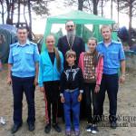 Волынские «детские» милиционеры посетили детей в христианских лагерях